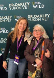 Dr. Oakley (Yukon Vet) and Gail Diedrichsen